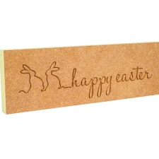 'happy easter' Engraved Plaque