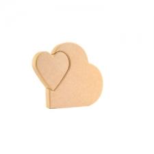 Heart in a Heart (18mm)