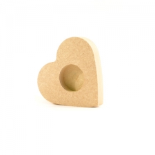 Heart Shaped Tea Light Holder (18mm)