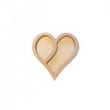 Heart Tray (18mm + 3mm)
