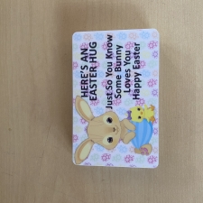 Here's an Easter Hug Card (Plastic)