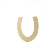 Horse Shoe, plain (6mm)