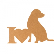 I Love Labradors (18mm)