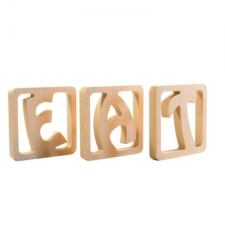 Individual Framed Letters (18mm)