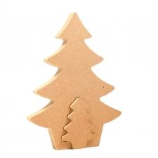 Interlocking Christmas Shapes
