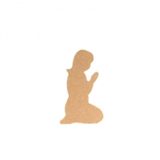 Kneeling Girl (Hair Down) (18mm)