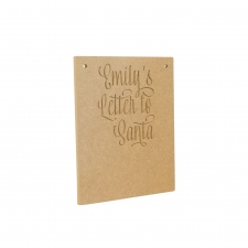 Letter to Santa, Personalised (6mm)