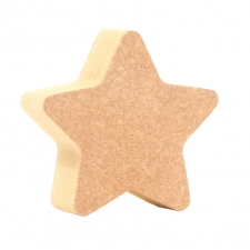 Mini Rounded Point Star (18mm)