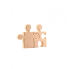 Mr and Mrs Jigsaws (18mm)