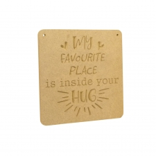 My favourite place is inside your hug (6mm)