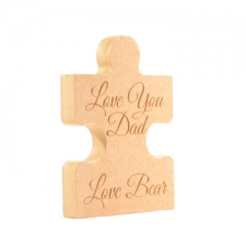 Personalised Jigsaw Piece (18mm)