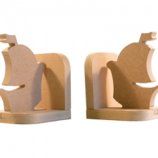 Pirate Ship Bookends (18mm)
