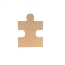 Plain Jigsaw Piece (18mm)