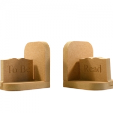 """To Be Read"" bookends (18mm)"