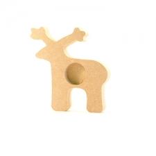 Reindeer Tea Light Holder (18mm)