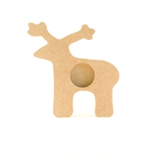 Reindeer Tea Light Holder (18mm)