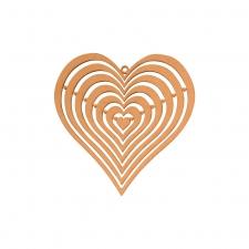 Ripple Heart (3mm)