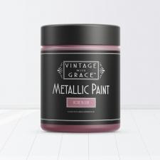 Rose Blush, Metallic Paint, Vintage with Grace