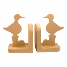 Set of Duck in Wellies Bookends 18mm