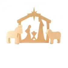 Simple Nativity Scene (18mm)