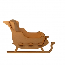Sleigh, Slot together design, Small (3mm)