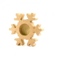 Snowflake Tea Light Holder (18mm)