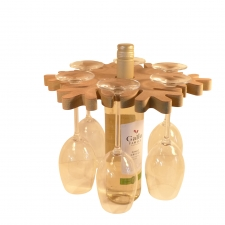 Snowflake Wine Caddy (18mm)