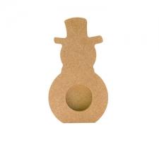 Snowman Tea Light Holder (18mm)