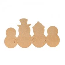 Snowmen Jigsaw Family
