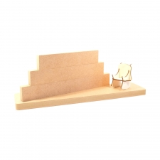 Stacking blocks with base and chair (18mm + 3mm)