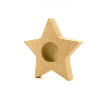 Star Shaped Tea Light Holder (18mm)