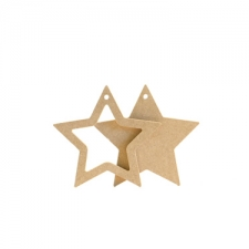 Star Shapes Hanging Decoration (6mm)