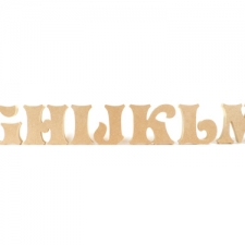 Storybook Font, Individual Freestanding Letters (18mm)