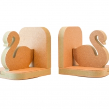Swan Bookends (18mm)