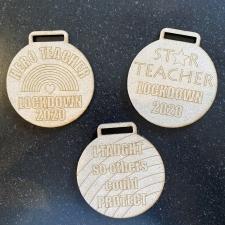 Teacher Medals (3mm)