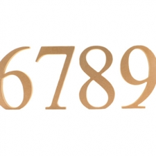 Times New Roman, Freestanding, Individual Numbers, (18mm)