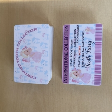 Tooth Fairy Cards (Plastic)