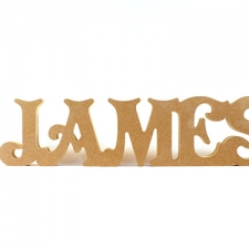 Victorian Font, Freestanding Joined Lettering (CAPITALS ONLY) (18mm)