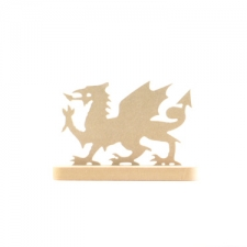 Welsh Dragon in a Stand (6mm)