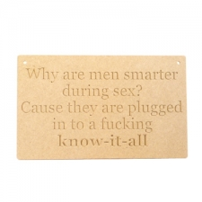 Why are men smarter... (6mm)