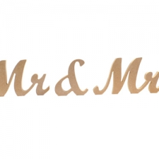 Wrexham Font, Mr & Mrs, 3 Pieces (18mm)