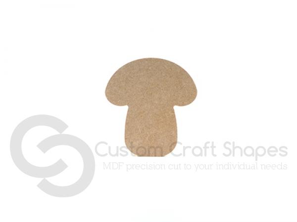 Toadstool/Mushroom Shape (6mm)