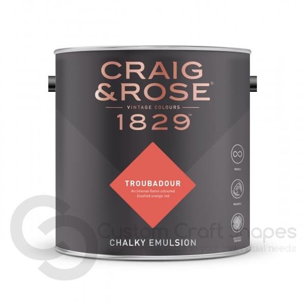 Troubadour Chalky Emulsion, Craig & Rose Paint