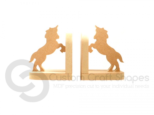 Unicorn Bookends (18mm)