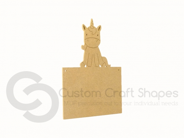 Unicorn Plaque (6mm)