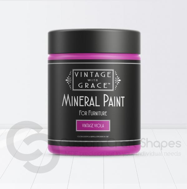 Vintage Viola, Mineral Chalk Paint, Vintage with Grace