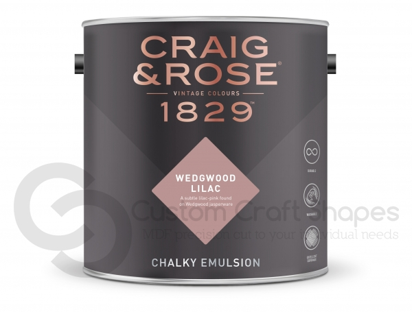Wedgewood Lilac Chalky Emulsion, Craig & Rose Paint