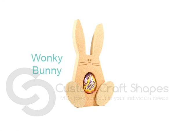 Wonky Bunny Creme Egg Holder (18mm)