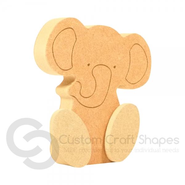 Wonky Elephant (18mm)