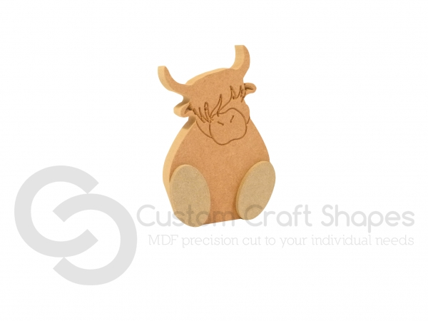 Wonky Highland Cow (18mm)